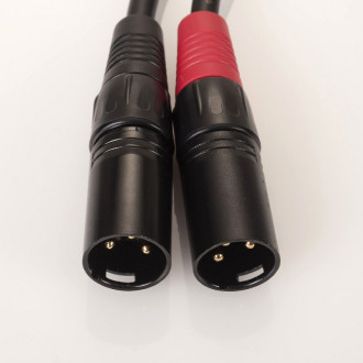 Hardwired cable XLR - 1m