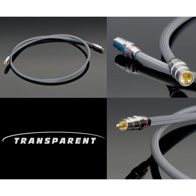 Transparent Audio High Performance 75 ohms 1m